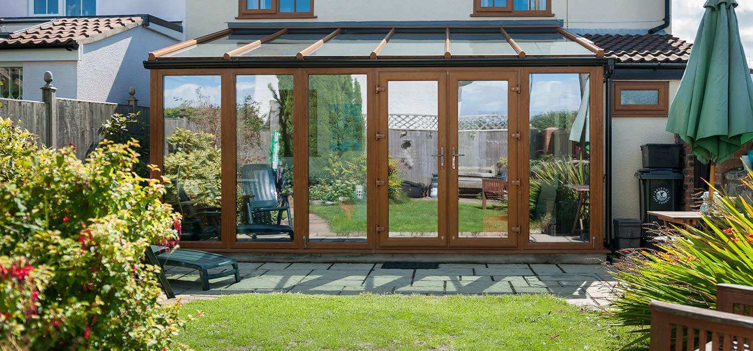 C w direct conservatories in stafford for Extension en verre