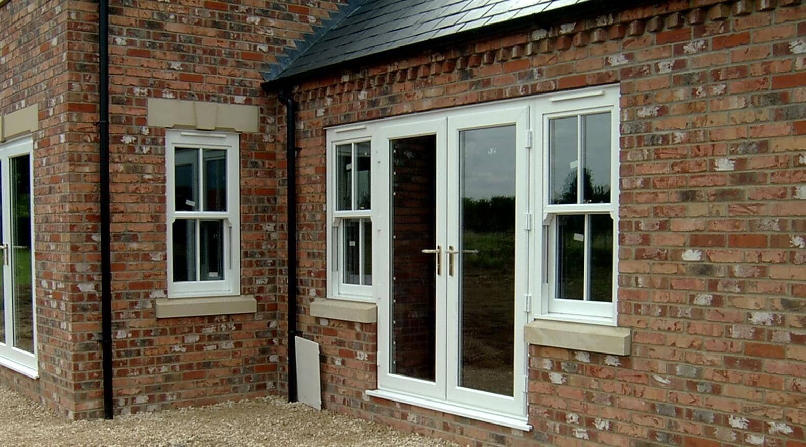 C w direct french doors for Conservatory doors exterior
