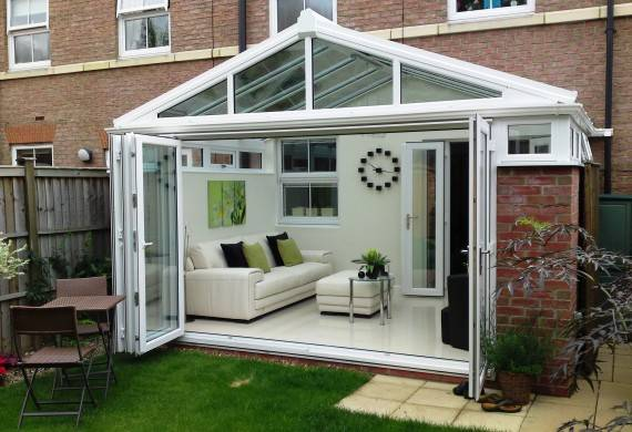 bi fold doors - gable conservatories in stafford